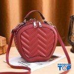 Geanta eleganta din piele eco rosie Ariana ACGD018-red