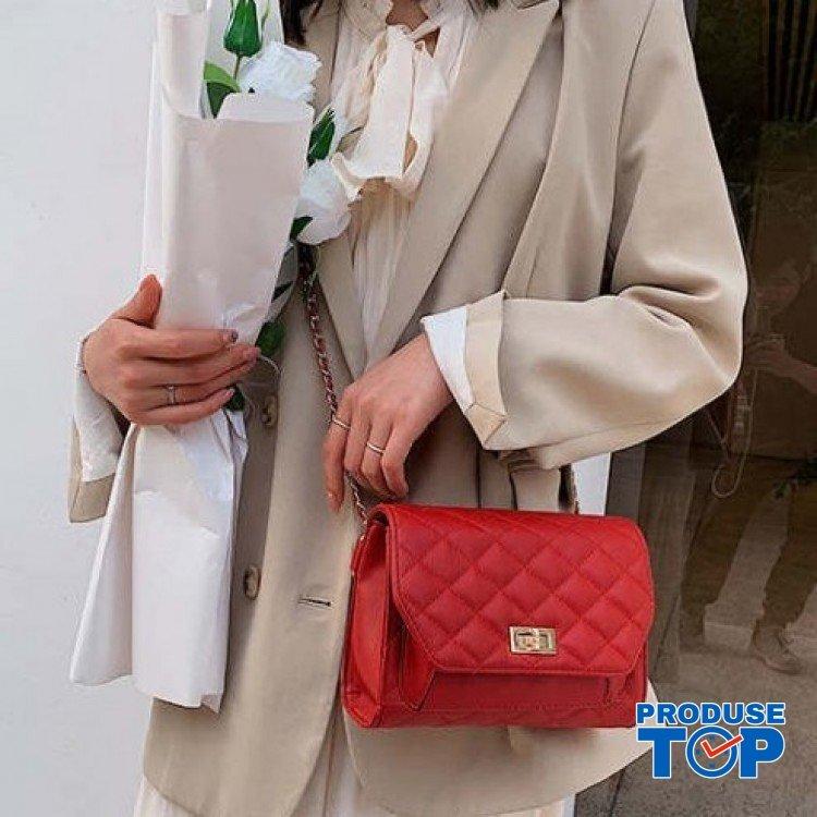 Geanta Borseta fashion rosie cu lant Caroline acgd036