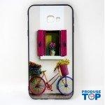 Husa Samsung Galaxy 4+ Imprimeu Bicicleta si Flori