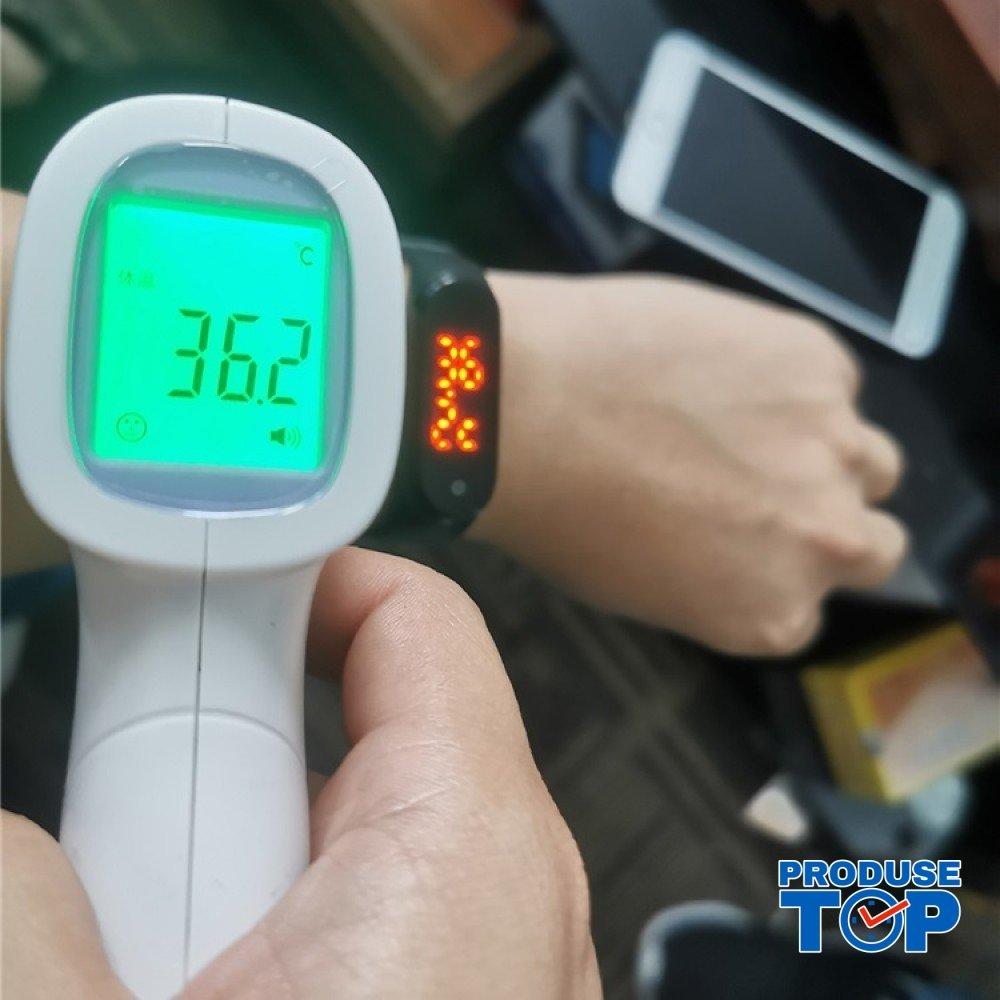 Ceas Bratara Smart Sport Negru cu termometru SBT01