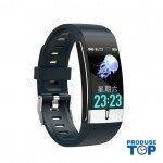 Ceas Smartwatch Touch Screen Bleumarin cu bluetooth/termometru Karen SWTM01
