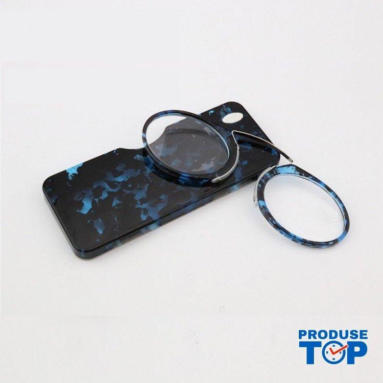 Ochelari de vedere slim pentru citit cu atasare pe telefonul mobil Blue Demi IPOV003