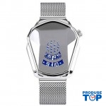 Ceas Barbatesc Sport Fashion Silver  cu bratara metalica magnetica argintie CBQZ010